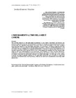 2003 | Insegnamento ultimo della NDE | Congresso