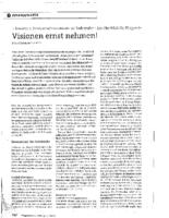 2011.06 – Visionen ernst nehmen ! | Pflegezeitschrift