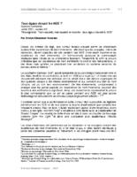 2001.07 | Tous égaux devant les NDE ? | Sciences Frontières