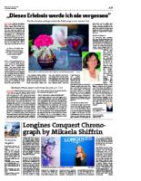 2019.10.30 | Dieses Erlebnis werde ich nie vergessen : Ein Bericht über aussergewöhnliche Erfahrungen rund um den Tod | Vorarlberger Nachrichten